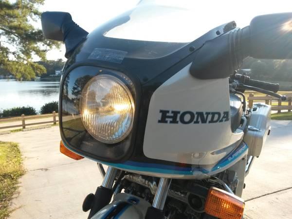 Honda CBX 1000 - Front