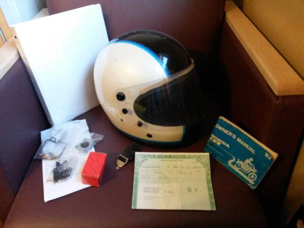 Honda CBX 1000 - Helmet