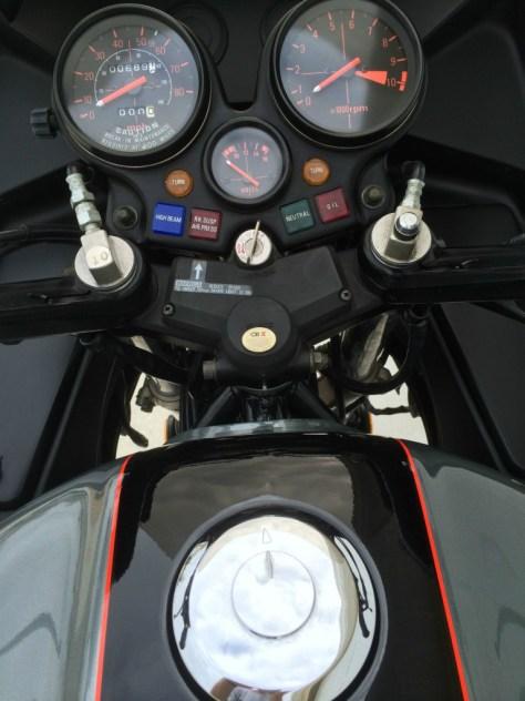 Honda CBX SuperSport - Gauges