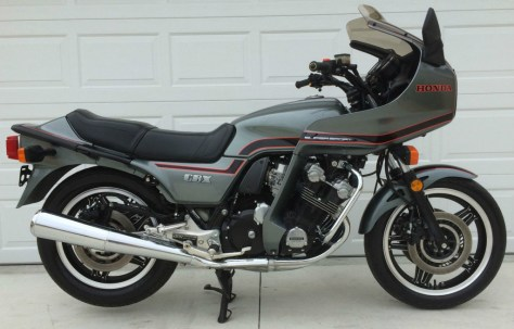 Honda CBX SuperSport - Right Side