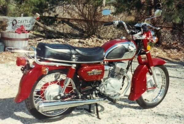 Imported – 1982 Honda CD200 Roadmaster – Bike-urious
