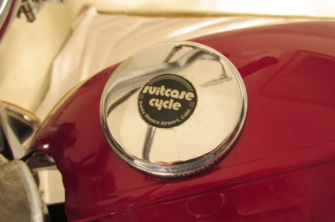 Honda CL125 Suitcase Cycle - Tank
