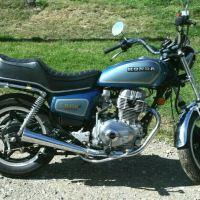 263 Miles - 1981 Honda CM400A Hondamatic