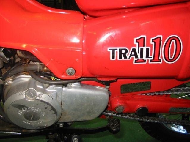 Honda CT110 - Sidecover