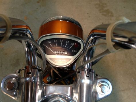 Honda CT70 - Gauges