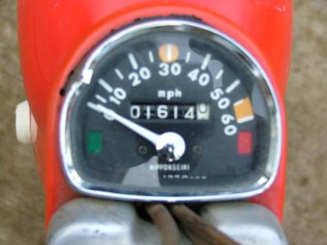 Honda CT90 K0 - Gauges