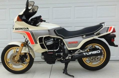 Honda CX500 Turbo - Left Side