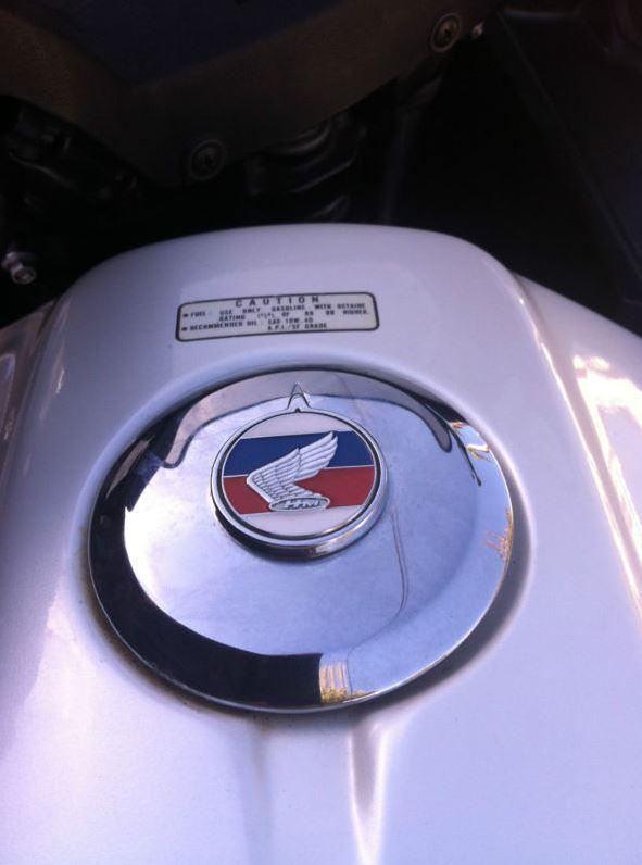 Honda CX650 Turbo - Gas Cap