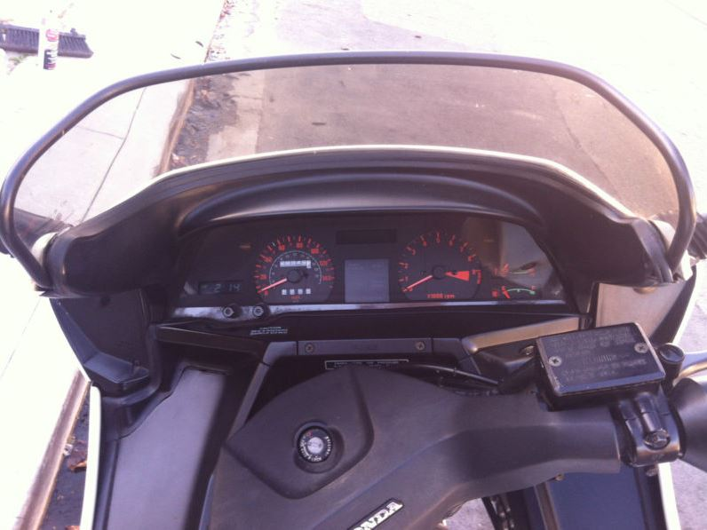Honda CX650 Turbo - Gauges
