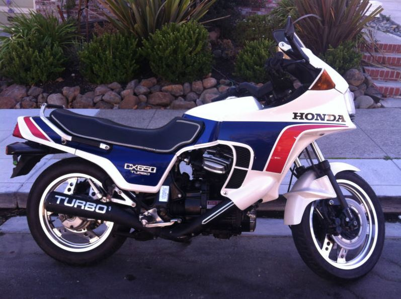 Honda CX650 Turbo - Right Side