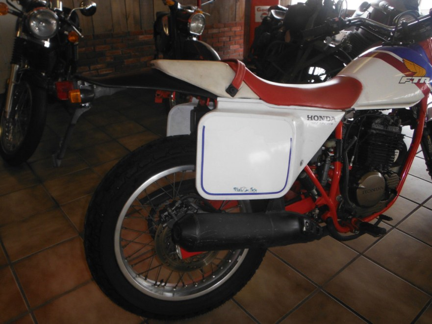 Honda FTR250 - Rear