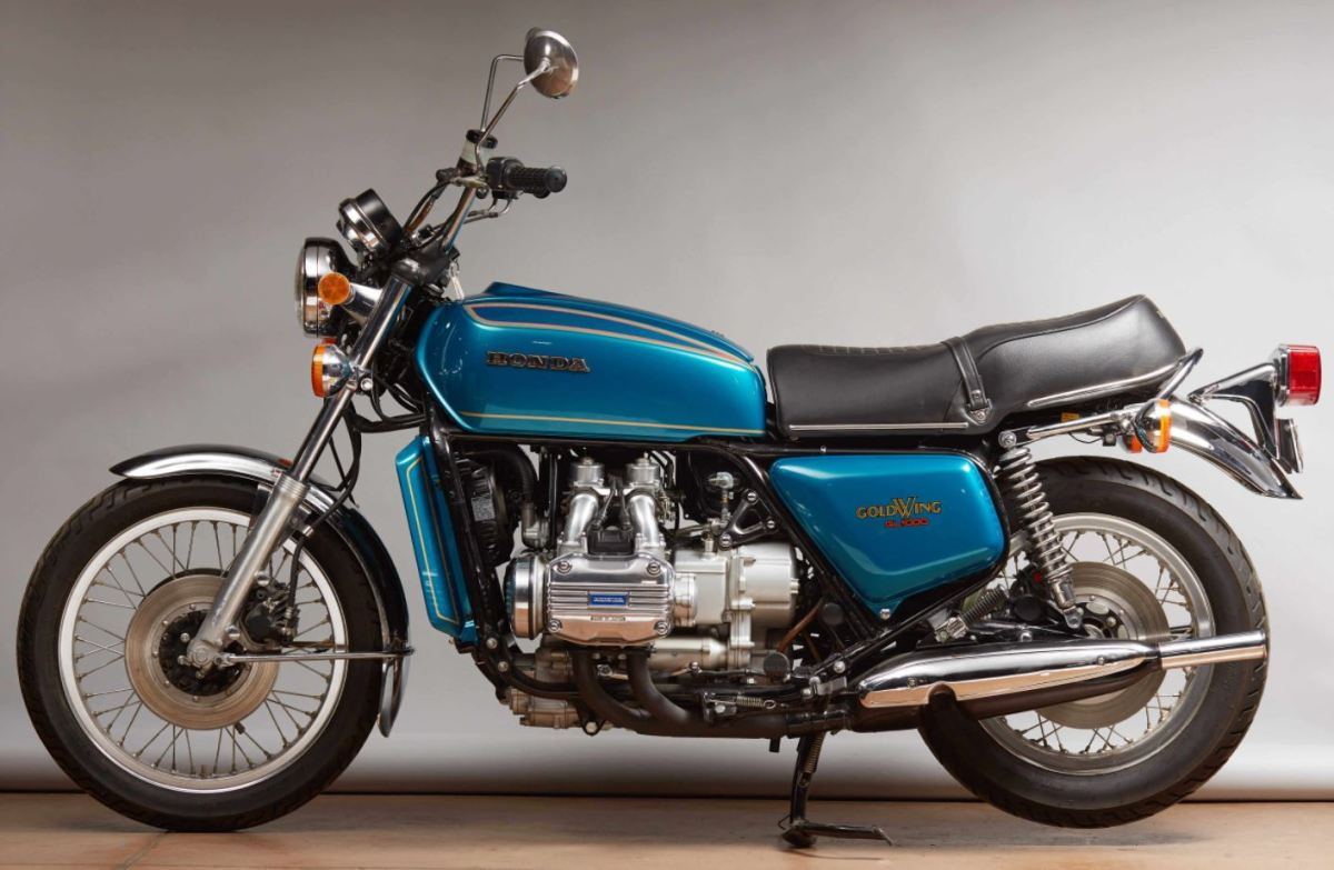 restored 1975 honda gold wing gl1000 k0 bike urious. Black Bedroom Furniture Sets. Home Design Ideas