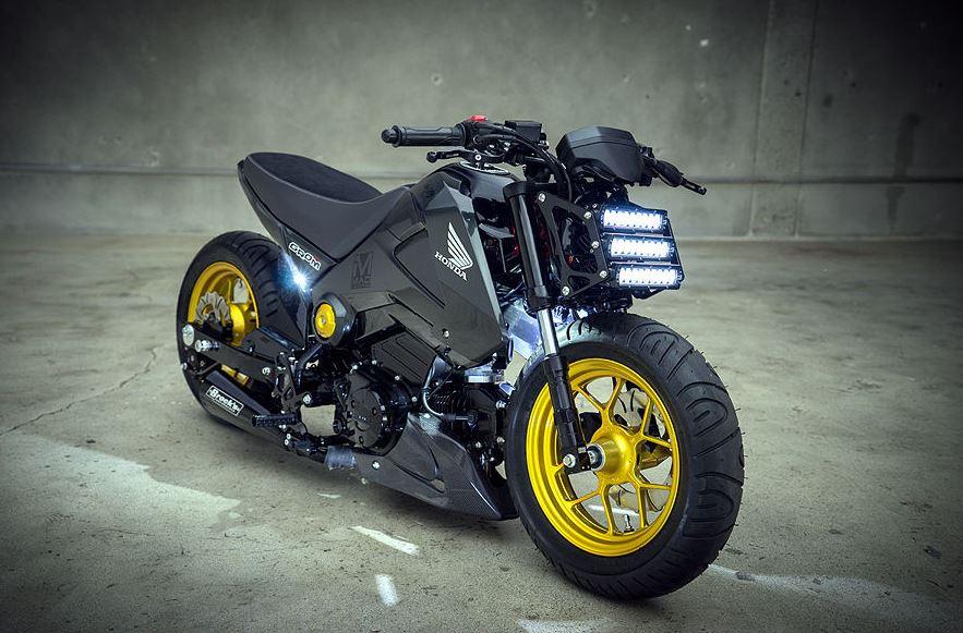 Honda Grom Price >> 2014 Honda Grom Custom | Bike-urious