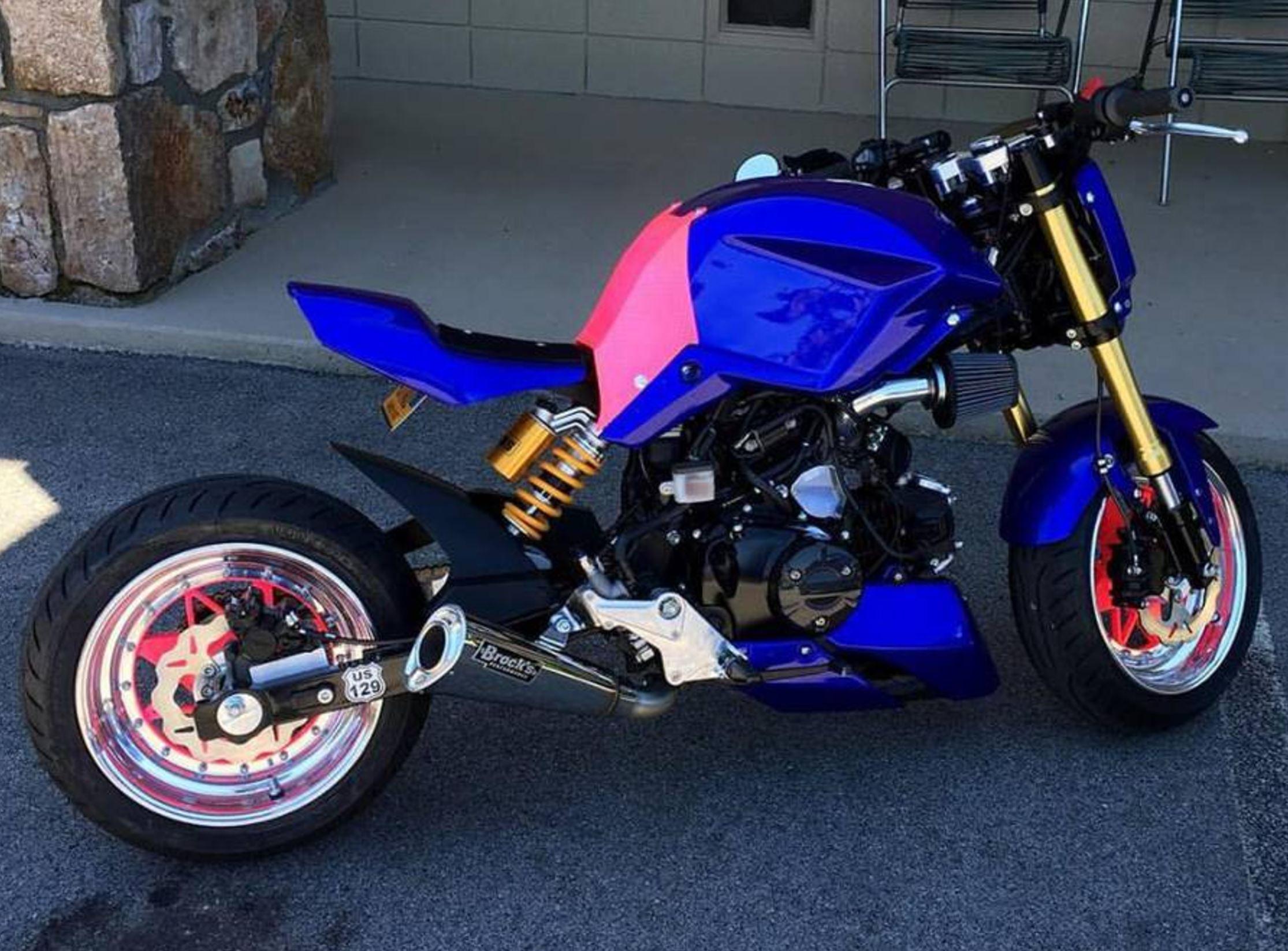 Heavily Customized – 2014 Honda Grom – Bike-urious