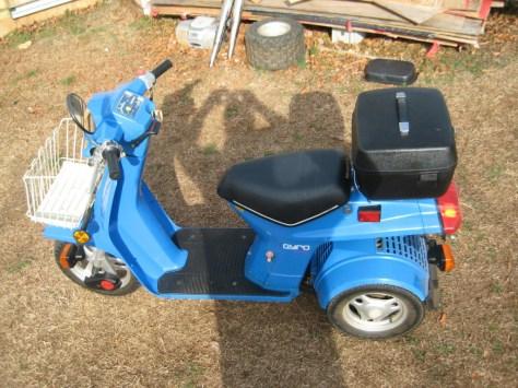Honda Gyro - Left Side