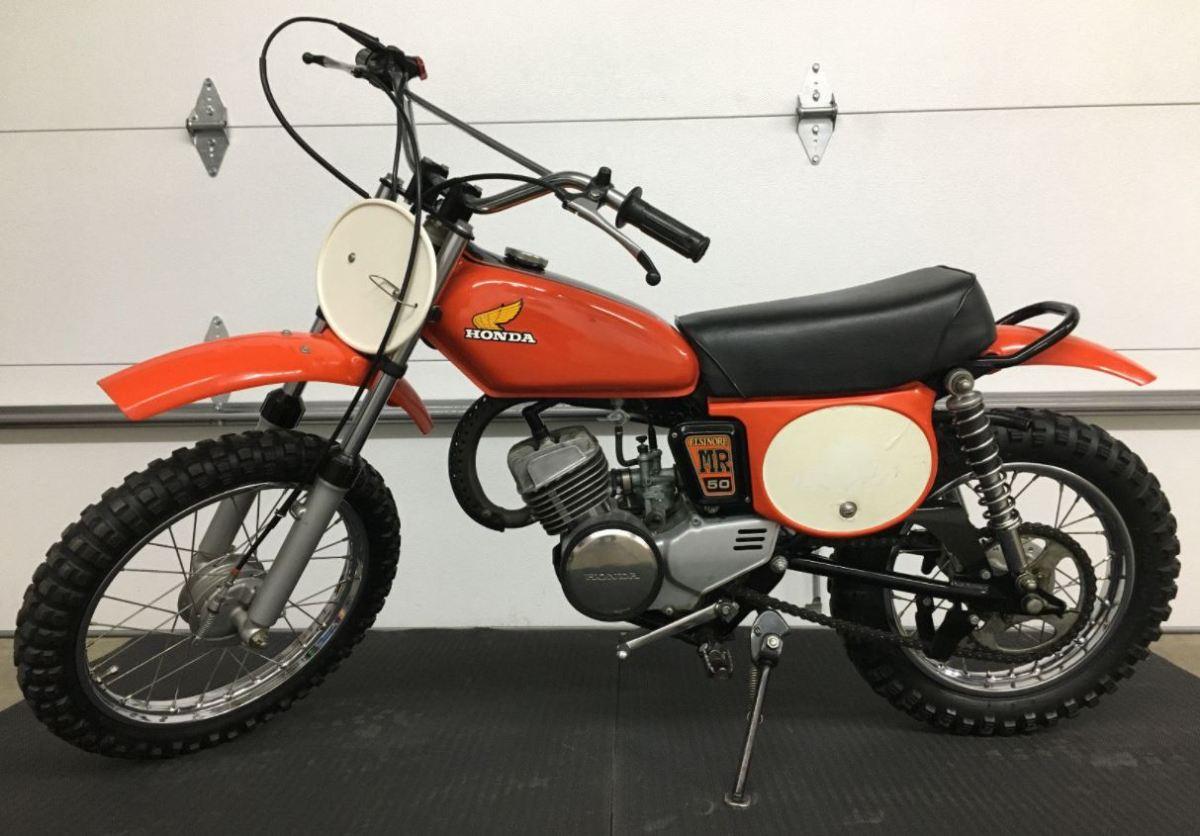 Nifty Fifty 1974 Honda Mr50 Elsinore Bike Urious