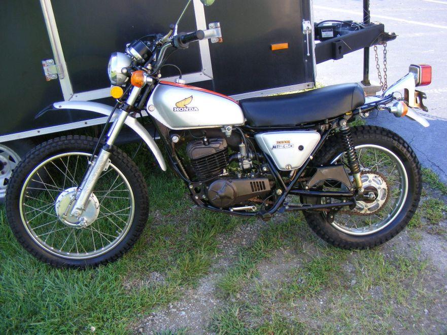 1974 Honda Mt250 Elsinore Bike Urious