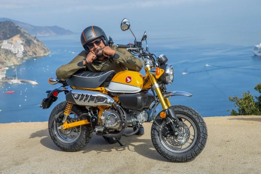 first ride  u2013 2019 honda monkey  u2013 bike