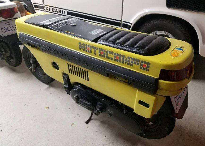 Subaru Of Claremont >> Two-Fer – Honda Motocompo Scooters – Bike-urious