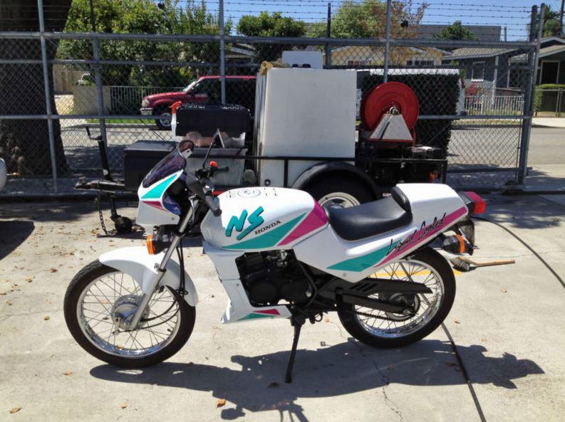 Honda NS50F - Left Side