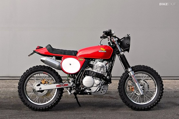 1988 Honda Nx650  U2013 Bike