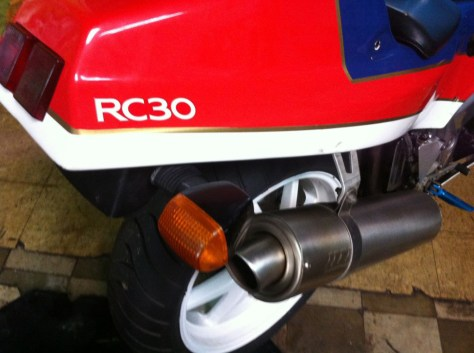 Honda RC30 - Rear Fairing