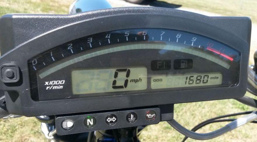 Honda RC51 Chopper - Cockpit