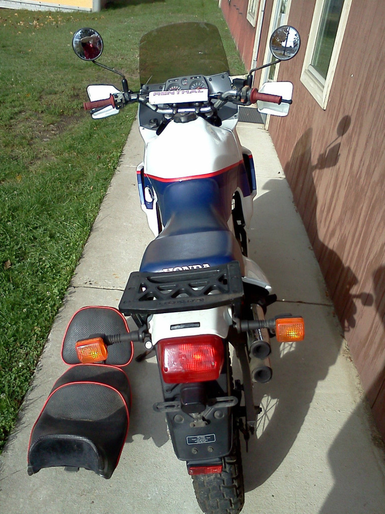 Honda Transalp - Rear