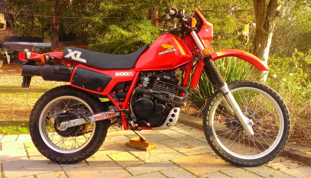 3 960 Miles 1983 Honda Xl600r Bike Urious