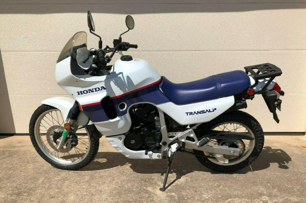 703 Miles - 1989 Honda XL600V Transalp