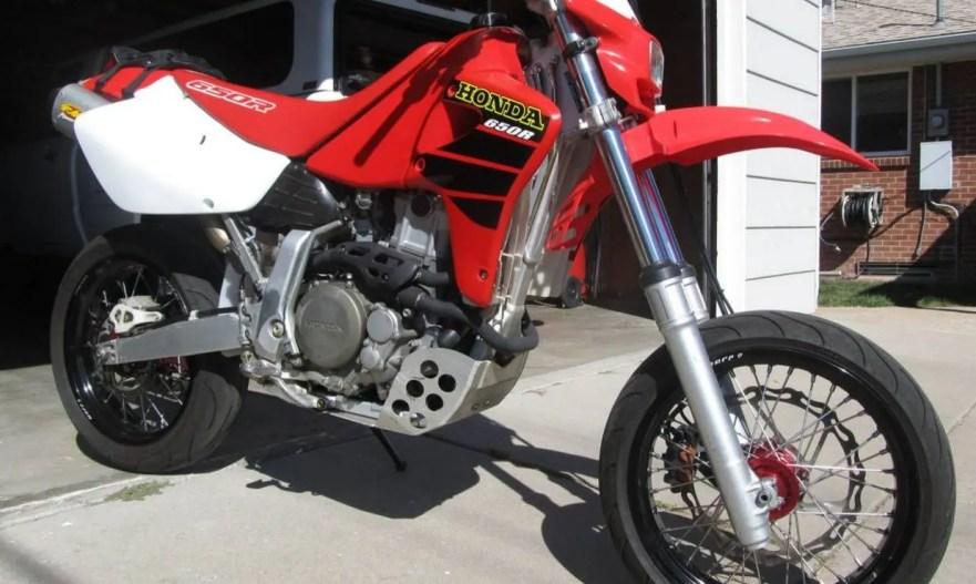 2001 Honda XR650R Supermoto | Bike-urious
