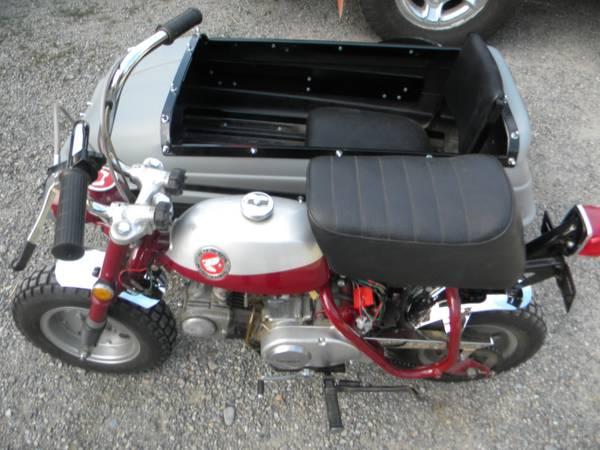1969 Honda Z50 with Sidecar | Bike-urious