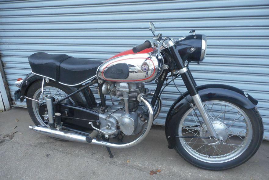 1954 horex regina 350 bike urious