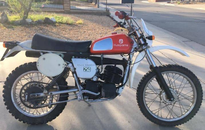 Street Legal - 1976 Husqvarna 250 WR