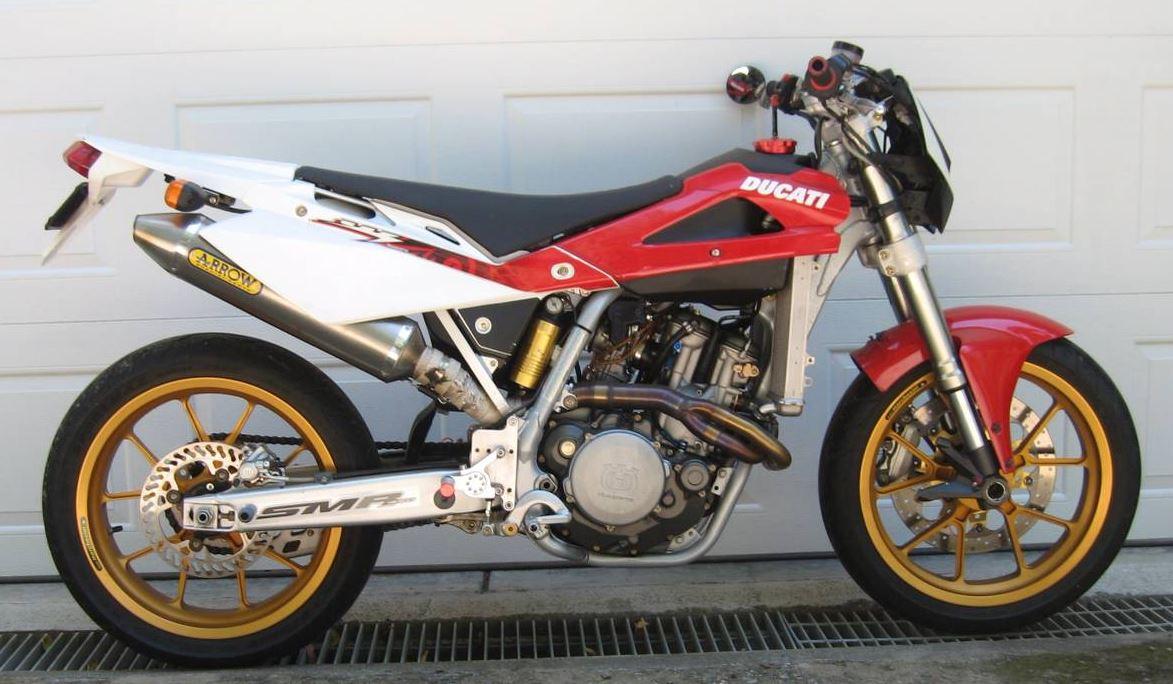 Ducati Forks - 2007 Husqvarna SMR450 Custom