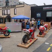 Picture Intermission - Iconic Motorbikes Open House