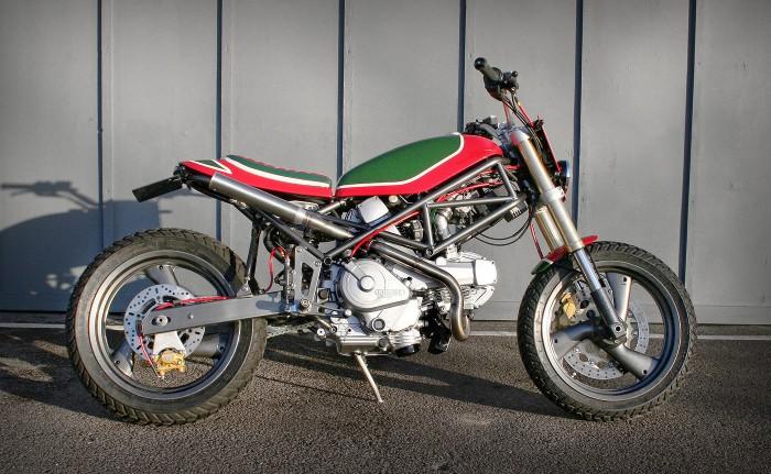 Il Castrolo - Ducati Monster M750 Custom - Right Side