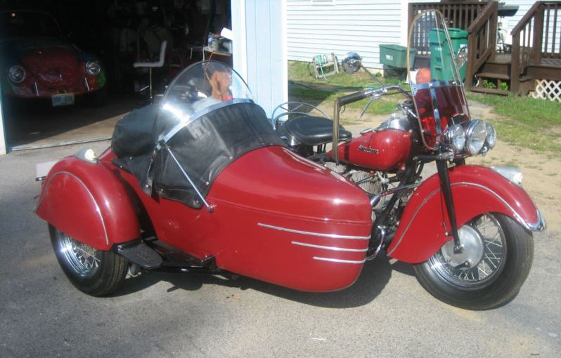 Indian Chief Sidecar - Right Side