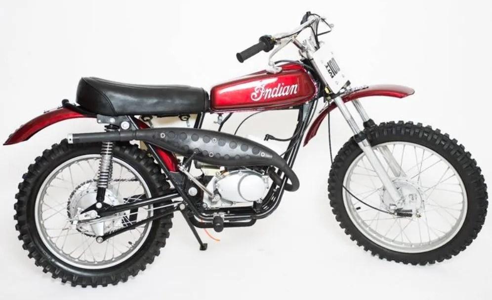 """American"" MXer - 1974 Indian MT100"