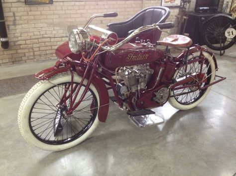 Indian Power Plus Sidecar - Left Side