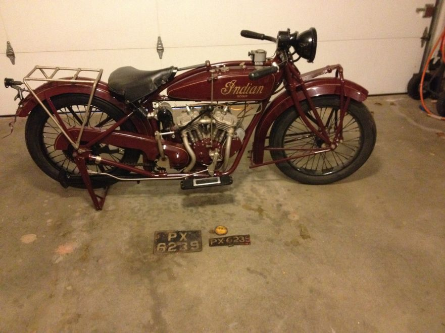 Indian Scout - Right Side