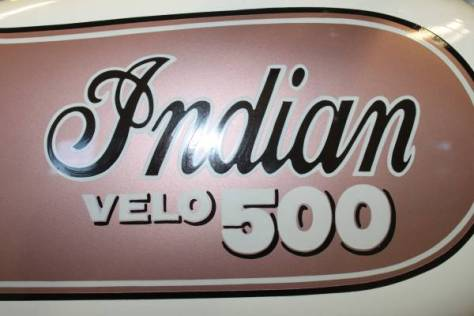 Indian Velo 500 - Tank