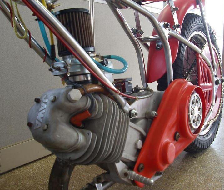 Jawa Speedway - Engine