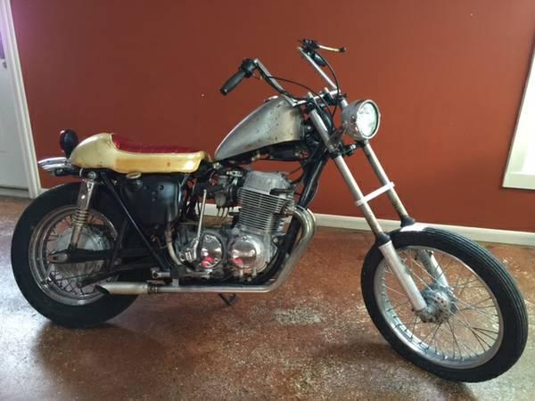 Joe Dirt Bikes - Honda CB750 K1 - Right Side