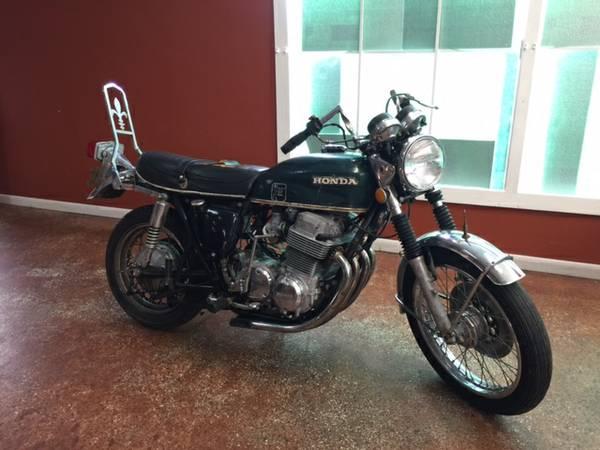 Joe Dirt Bikes - Honda CB750 K4 - Right Side Green