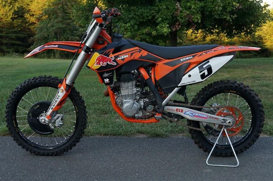 KTM 450 SX-F Factory Edition - Left Side