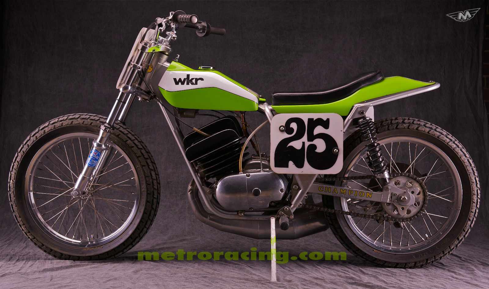 1974 Kawasaki Big Horn Flat Tracker For Sale Bike Urious
