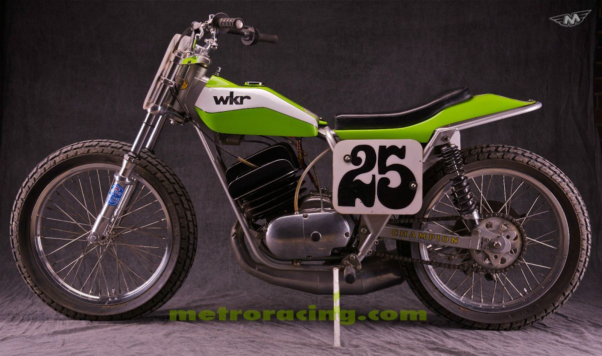 1974 Kawasaki Big Horn Flat Tracker Bike Urious