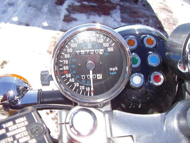 Kawasaki Eliminator ZL900 - Cockpit