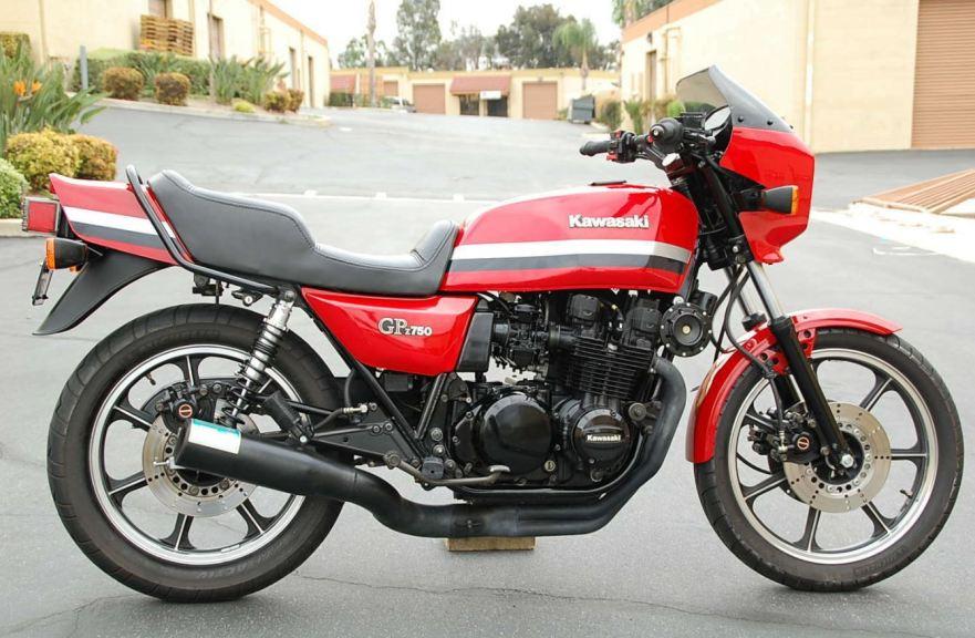 1982 Kawasaki GPz750 – Bike-urious
